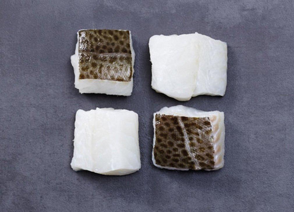 Skrei - Kabeljau - Loin mit Haut